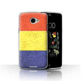 STUFF4 Case/Cover for LG K5/X220/Q6 / Romania/Romanian Design / Flags Collection Mobile phones