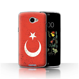 STUFF4 Case/Cover for LG K5/X220/Q6 / Turkey/Turkish Design / Flags Collection Mobile phones
