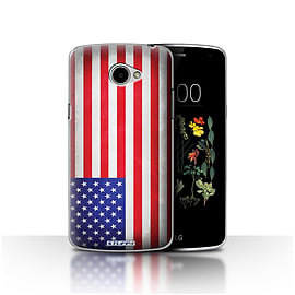 STUFF4 Case/Cover for LG K5/X220/Q6 / America/American/USA Design / Flags Collection Mobile phones