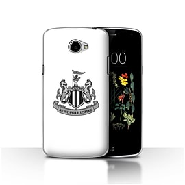 Official Newcastle United FC Case/Cover for LG K5/X220/Q6/Mono/White Design/NUFC Football Crest Mobile phones