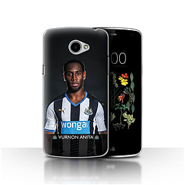 Official Newcastle United FC Case/Cover for LG K5/X220/Q6/Anita Design/NUFC Football Player 15/16 Mobile phones