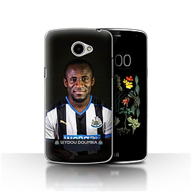 Official Newcastle United FC Case/Cover for LG K5/X220/Q6/Doumbia Design/NUFC Football Player 15/16 Mobile phones