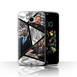 Official Newcastle United FC Case/Cover for LG K5/X220/Q6/Montage Design/NUFC Rafa Ben?tez Mobile phones