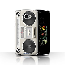 STUFF4 Case/Cover for LG K5/X220/Q6 / Boombox Design / Retro Tech Collection Mobile phones