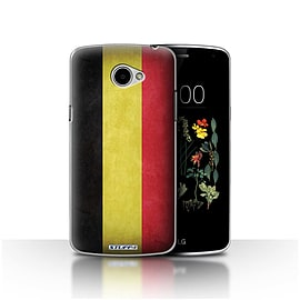 STUFF4 Case/Cover for LG K5/X220/Q6 / Belgium Design / Flags Collection Mobile phones