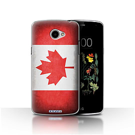 STUFF4 Case/Cover for LG K5/X220/Q6 / Canada/Canadian Design / Flags Collection Mobile phones