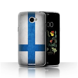 STUFF4 Case/Cover for LG K5/X220/Q6 / Finland/Finnish Design / Flags Collection Mobile phones