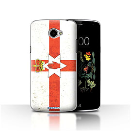 STUFF4 Case/Cover for LG K5/X220/Q6 / Northern Ireland Design / Flags Collection Mobile phones