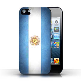 STUFF4 Case/Cover for Apple iPhone SE / Argentina/Argentinean Design / Flags Collection Mobile phones