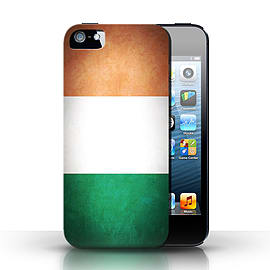 STUFF4 Case/Cover for Apple iPhone SE / Ireland/Irish Design / Flags Collection Mobile phones