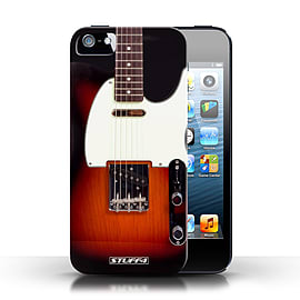 STUFF4 Case/Cover for Apple iPhone SE / Sunburst Electric Design / Guitar Collection Mobile phones