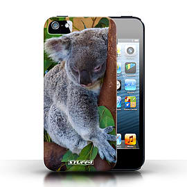 STUFF4 Case/Cover for Apple iPhone SE / Koala Bear Design / Wildlife Animals Collection Mobile phones