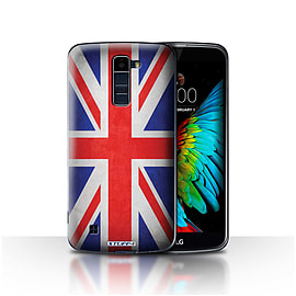 STUFF4 Case/Cover for LG K10 /K420/K430 / Great Britain/British Design / Flags Collection Mobile phones