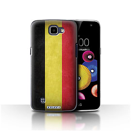 STUFF4 Case/Cover for LG K4/K120/K121/K130 / Belgium Design / Flags Collection Mobile phones