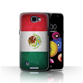 STUFF4 Case/Cover for LG K4/K120/K121/K130 / Mexico/Mexican Design / Flags Collection Mobile phones
