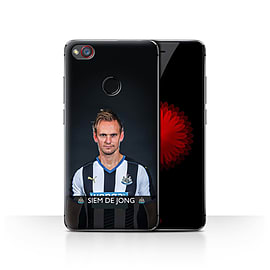 Newcastle United FC Case/Cover for ZTE Nubia Z11 Mini/De Jong Design/NUFC Football Player 15/16 Mobile phones