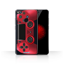 STUFF4 Case/Cover for ZTE Nubia Z11 Mini / Red Design / Playstation PS4 Collection Mobile phones