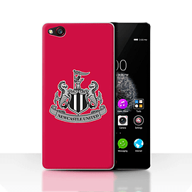 Official Newcastle United FC Case/Cover for ZTE Nubia Z9/Mono/Red Design/NUFC Football Crest Mobile phones
