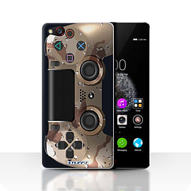 STUFF4 Case/Cover for ZTE Nubia Z9 / Desert Camouflage Design / Playstation PS4 Collection Mobile phones