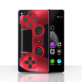 STUFF4 Case/Cover for ZTE Nubia Z9 / Red Design / Playstation PS4 Collection Mobile phones