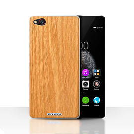 STUFF4 Case/Cover for ZTE Nubia Z9 / Pine Design / Wood Grain Effect/Pattern Collection Mobile phones
