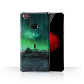 Official Chris Cold Case/Cover for ZTE Nubia Z11 Mini/Aurora Design/Alien World Cosmos Mobile phones