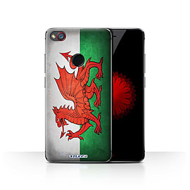 STUFF4 Case/Cover for ZTE Nubia Z11 Mini / Wales/Welsh Design / Flags Collection Mobile phones