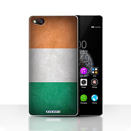 STUFF4 Case/Cover for ZTE Nubia Z9 / Ireland/Irish Design / Flags Collection Mobile phones