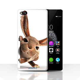 STUFF4 Case/Cover for ZTE Nubia Z9 / Peeking Bunny Design / Funny Animals Collection Mobile phones