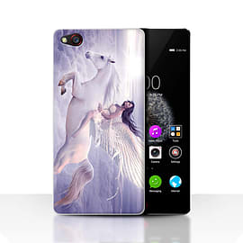 STUFF4 Case/Cover for ZTE Nubia Z9 / I Can Fly Design / Fantasy Angel Collection Mobile phones