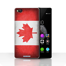 STUFF4 Case/Cover for ZTE Nubia Z9 / Canada/Canadian Design / Flags Collection Mobile phones