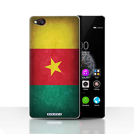 STUFF4 Case/Cover for ZTE Nubia Z9 / Cameroon/Cameroonian Design / Flags Collection Mobile phones
