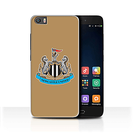 Official Newcastle United FC Case/Cover for Xiaomi Mi5/Mi 5/Colour/Gold Design/NUFC Football Crest Mobile phones