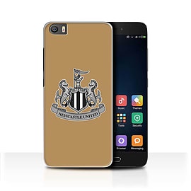 Official Newcastle United FC Case/Cover for Xiaomi Mi5/Mi 5/Mono/Gold Design/NUFC Football Crest Mobile phones