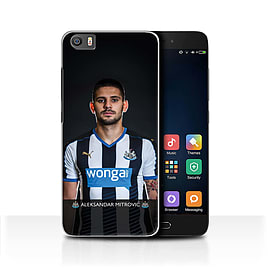 Newcastle United FC Case/Cover for Xiaomi Mi5/Mi 5/Mitrovic Design/NUFC Football Player 15/16 Mobile phones