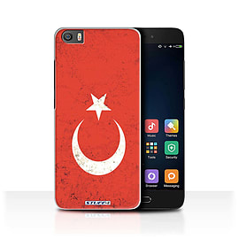 STUFF4 Case/Cover for Xiaomi Mi5/Mi 5 / Turkey/Turkish Design / Flags Collection Mobile phones