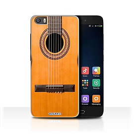 STUFF4 Case/Cover for Xiaomi Mi5/Mi 5 / Wood/Wooden Acoustic Design / Guitar Collection Mobile phones