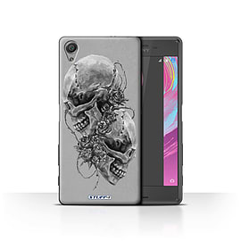 STUFF4 Case/Cover for Sony Xperia X Performance / Roses Design / Skull Art Sketch Collection Mobile phones