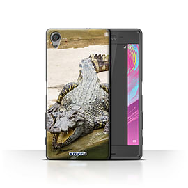 STUFF4 Case/Cover for Sony Xperia X Performance / Crocodile Design / Wildlife Animals Collection Mobile phones