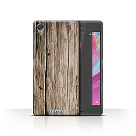 STUFF4 Case/Cover for Sony Xperia X Performance/Driftwood Design/Wood Grain Effect/Pattern Mobile phones