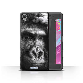 STUFF4 Case/Cover for Sony Xperia X / Gorilla/Monkey Design / Wildlife Animals Collection Mobile phones