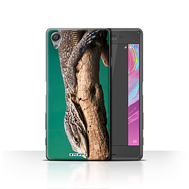 STUFF4 Case/Cover for Sony Xperia X / Lizard Design / Wildlife Animals Collection Mobile phones