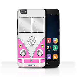 STUFF4 Case/Cover for Xiaomi Mi5/Mi 5 / Pink Design / VW Camper Van Collection Mobile phones