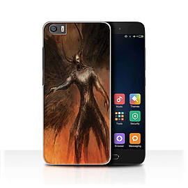 Official Chris Cold Case/Cover for Xiaomi Mi5/Mi 5 / Black Wings Design / Dark Art Demon Collection Mobile phones