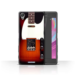 STUFF4 Case/Cover for Sony Xperia X Performance / Sunburst Electric Design / Guitar Collection Mobile phones
