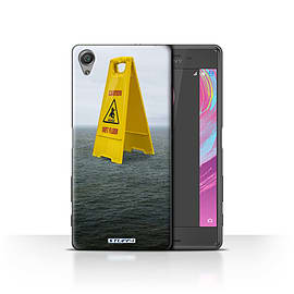 STUFF4 Case/Cover for Sony Xperia X Performance / Wet Floor Design / Imagine It Collection Mobile phones