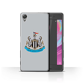 Newcastle United FC Case/Cover for Sony Xperia X Performance/Colour/Grey Design/NUFC Football Crest Mobile phones