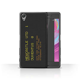 Newcastle United FC Case/Cover for Sony Xperia X Performance/2002 Design/NUFC Famous Football Result Mobile phones