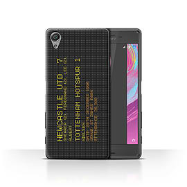 Official NUFC Case/Cover for Sony Xperia X Performance/Dec. 1996 Design/NUFC Famous Football Result Mobile phones