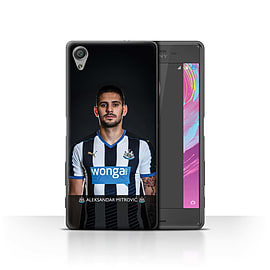Official NUFC Case/Cover for Sony Xperia X Performance/Mitrovic Design/NUFC Football Player 15/16 Mobile phones